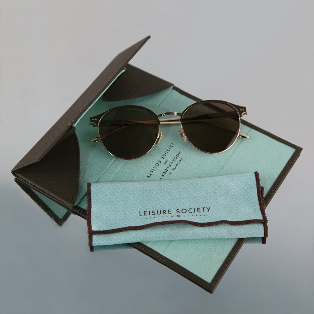 Leisure Society Brille und Etui